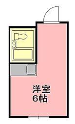 アークハイツ平野[5階]の間取り