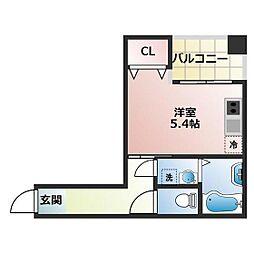 ラ・トゥール船橋TOKYO− BAY[204号室]の間取り