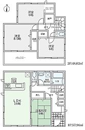 リーブルG東坊城町3-3号棟 2480円 新築分譲全3区画