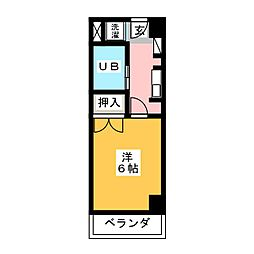 CASA NOAH名古屋II[4階]の間取り