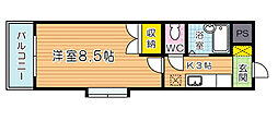 ウィンズ到津[12階]の間取り