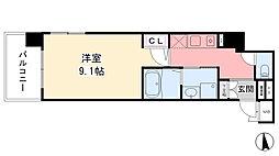 ロイヤル神戸三宮[204号室]の間取り