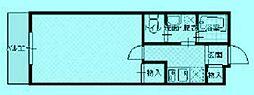 リヴィエールC棟[1階]の間取り