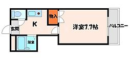 シャルマン大和田パート1[4階]の間取り