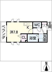 Lemona太閤[2階]の間取り