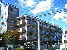 大阪府高槻市桃園町の賃貸マンションの外観