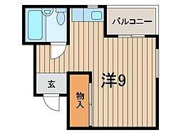 ビーハイブ[2階]の間取り