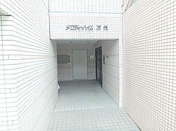大阪府大阪市住吉区万代4丁目の賃貸マンションの外観