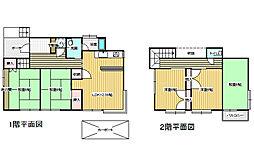 [一戸建] 新潟県新潟市西区上新栄町4丁目 の賃貸【新潟県 / 新潟市西区】の間取り