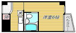 東京都葛飾区東立石2丁目の賃貸マンションの間取り
