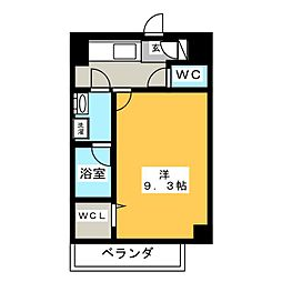 駅前町新築マンション[2階]の間取り