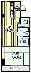 アイランドマンション[6階]の間取り