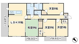 福岡県北九州市門司区東新町1丁目の賃貸マンションの間取り
