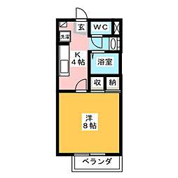 Is‐FLAT[1階]の間取り