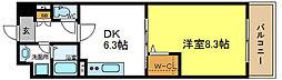 カーサベージュ1[3階]の間取り