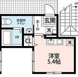 BASE上井草[2階]の間取り
