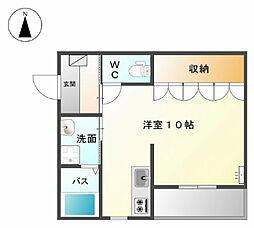 あすかIII[2階]の間取り