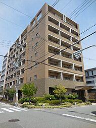 兵庫県尼崎市東園田町9の賃貸マンションの外観