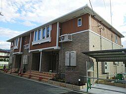 大阪府大東市御供田3丁目の賃貸アパートの外観