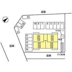 (仮)D-room四十万町[101号室]の外観