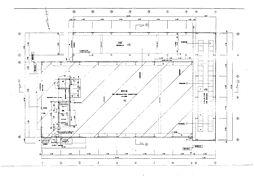 倉庫部分平面図