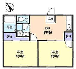Koto八千代台[1階]の間取り