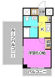 KWレジデンス高野台[4階]の間取り