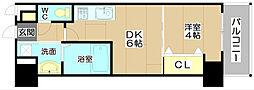 プレステージIV芥川[7階]の間取り