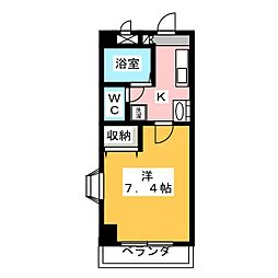 エンジェルメゾン[2階]の間取り