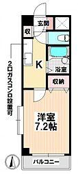 愛知県名古屋市南区呼続5丁目の賃貸マンションの間取り