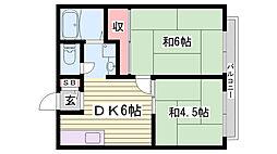 手柄駅 4.3万円
