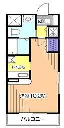 東京都西東京市南町4丁目の賃貸マンションの間取り