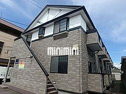 宮城県仙台市若林区若林3丁目の賃貸アパートの外観