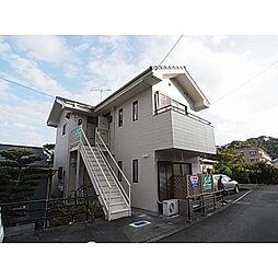 静岡県静岡市清水区草薙の賃貸アパートの外観