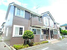 埼玉県北本市西高尾4の賃貸アパートの外観