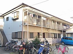 神奈川県川崎市中原区中丸子の賃貸アパートの外観