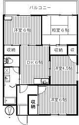 高橋マンション[205号室号室]の間取り