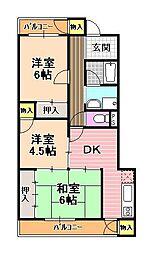 パインアベニュー[2階]の間取り