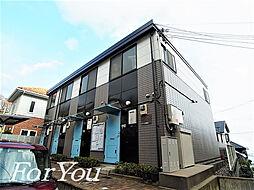 兵庫県神戸市灘区長峰台1丁目の賃貸アパートの外観