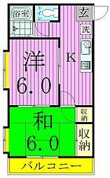 ウィズハウス[2階]の間取り