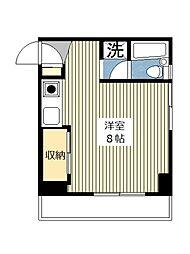 第2長井ビル[605号室]の間取り