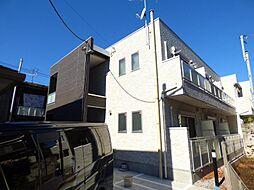 千葉県船橋市藤原1丁目の賃貸アパートの外観