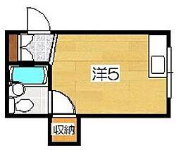 マンションASUKA[2階]の間取り