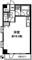ダイアパレス新宿1丁目[203号室]の間取り