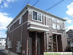 大阪府柏原市本郷4丁目の賃貸アパートの外観