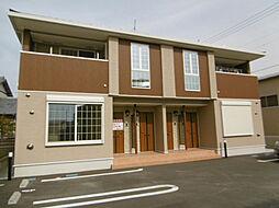 静岡県浜松市浜北区貴布祢の賃貸アパートの外観