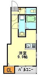 トレド新宿[601号室]の間取り