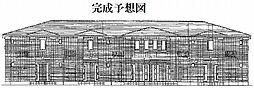 ルミナス大和高田B[2階]の外観