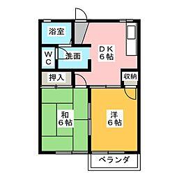 グラバーハウス  ファミリー[2階]の間取り