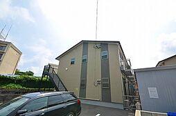 福岡県北九州市小倉北区赤坂3丁目の賃貸アパートの外観